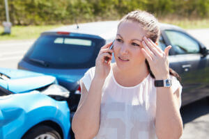 insurance adjuster calling after car crash